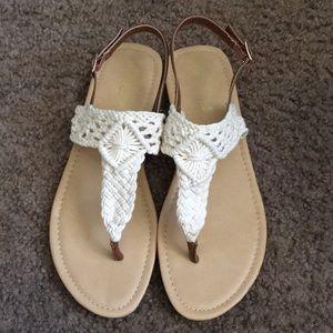 Knit Detailed Sandals
